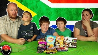 Download American Family Reacts to Snacks from South Africa, Snackcrate Video