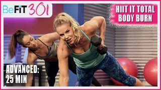 Download BeFiT 301: 25 Min HIIT It Total Body Burn | Advanced Workout- Maddy Curley Video