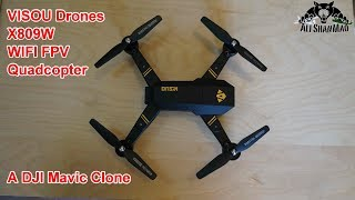 Download Check out this DJI Mavic Clone X809W Quadcopter Video