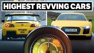 Download 10 Of The Highest-Revving Production Cars Of All Time Video
