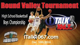 Download Boys Championship Game Round Valley Round Ball Tournament High School Basketball Video