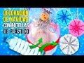 Download 🎄Cómo hacer ADORNOS navideños con BOTELLAS de PLÁSTICO * 3 MANUALIDADES de NAVIDAD con RECICLAJE Video