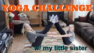 Download Yoga Challenge ft My Sister - Lovey James Video
