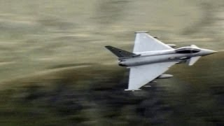 Download Great Sounding Typhoons Flying Through The Mach Loop Wales. Video