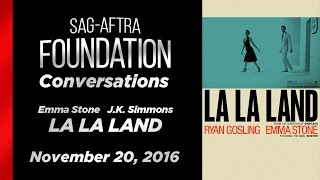 Download Conversations with Emma Stone and J.K. Simmons of LA LA LAND Video