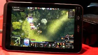 Download Dota 2 Reborn on Windows 10 tablet Acer Iconia W4 Video