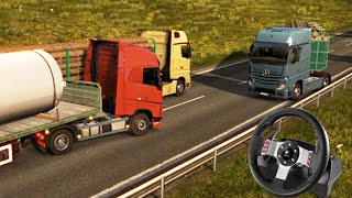 Download Euro Truck Simulator 2 - ACIDENTE na VIAGEM!!! + G27 Video