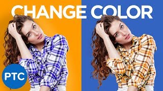 Download How To Change The Color of ANYTHING In Photoshop | Select and Change ANY Color Video