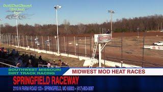 Download Springfield Raceway | Midwest Mods Heat Races | Turkey Bowl Xl 11/19/17 Video