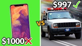 Download 9 Cars CHEAPER Than The New iPhone X!! Video