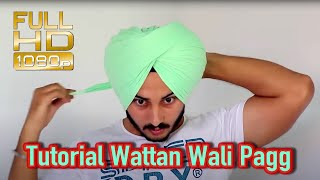Download Turban - Tutorial Wattan Wali Pagg Performance by Satnam Singh Video