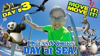 Download I LIKE TO MOVE IT MOVE IT!!! Dreamworks Parade at Sea! [CRUISE WEEK DAY 3] Video
