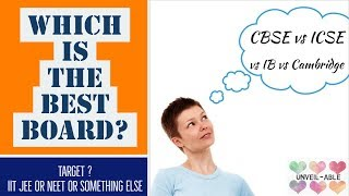 Download CBSE vs CISCE (ICSE) vs IB vs CAMBRIDGE    Educational boards in India    Which is better Video