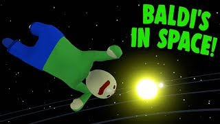 Download BALDI GOES TO SPACE! | Human Fall Flat Video