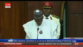 Download President Buhari Presents 2019 Appropriation Bill To NASS Pt.4 |Live Event| Video