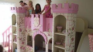 Download Beautiful Girls Princess Room- Princess Castle Bed Video