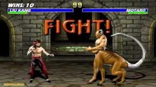 Download Mortal Kombat 3 Liu Kang Gameplay Playthrough Video