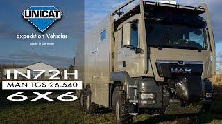 Download UNICAT Expedition Vehicle IN72H MAN TGS 26.540 - 6x6 Video