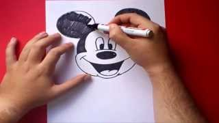 Download Como dibujar a Mickey Mouse paso a paso - Disney | How to draw Mickey Mouse - Disney Video