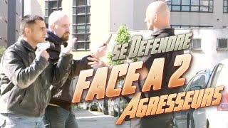 Download Cours de Self-défense : bagarre de rue contre deux agresseurs Video
