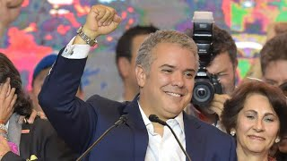 Download FARC peace deal at risk as conservative Duque wins Colombia presidency Video