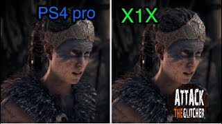 Download Hellblade- XBOX ONE X VS PLAYSTATION 4 PRO GRAPHICS COMPARISON Video