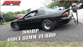 Download Violent 900hp 88mm Turbo Camaro Dyno Video
