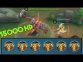 Download Mobile Legends Minotaur 15000+ HP (MAX HP!) Video