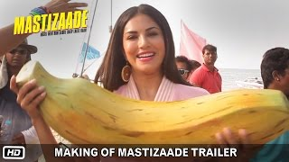 Download Making of Mastizaade Trailer | Sunny Leone, Tusshar Kapoor and Vir Das Video