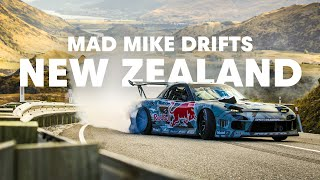 Download Mad Mike drifting Crown Range in New Zealand Video