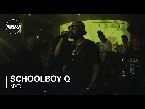 "Schoolboy Q ""Unreleased Track (Gangsta Shit)"" - Boiler Room NY"