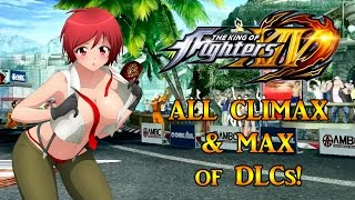 Download KOF XIV ALL DLC CHARACTERS MAX & CLIMAX!!! Video