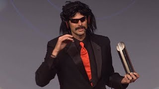 Download DrDisRespect's Speech for Winning Streamer of the Year 2017! Video