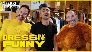 Download Tan France Makeover of Big Mouth's Nick Kroll & Andrew Goldberg | Dressing Funny | Netflix is a Joke Video