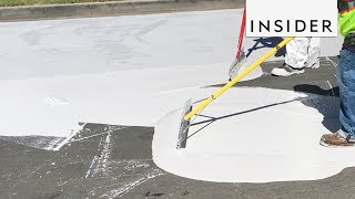 Download Why LA Streets are Being Painted White Video