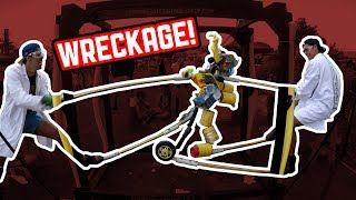 Download Da Gangsta Goat with Endorphin vs Super Hacker with Murray   Stupid Robot Fighting League Video