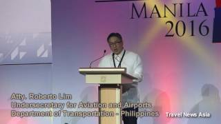 Download Philippines Underscretary for Aviation and Airports Roberto Lim at AAPA Assembly of Presidents Video