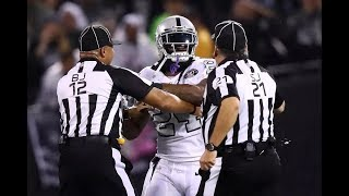 Download NFL Players Getting Ejected For Contacting Officials Video