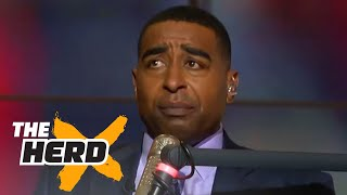Download Cris Carter shares stories about playing against Michael Jordan as a teenager | THE HERD Video