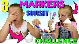 Download 3 MARKER SQUISHY CHALLENGE!!! Video