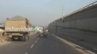 Download Highway to Vadodara City, Baroda, Gujarat Video