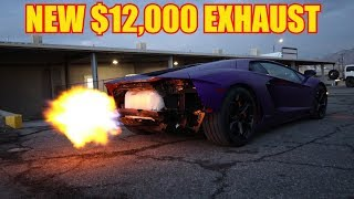 Download Maybe the Loudest Aventador in the World *Frequency Intelligence Exhaust* Video