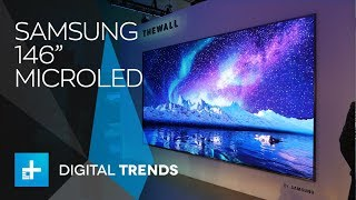 Download Samsung 146-inch MicroLED 4K TV and 85-inch 8K Video