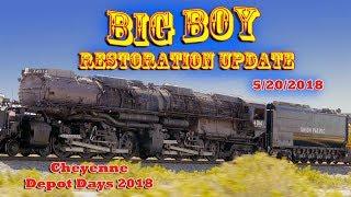 Download Big Boy Restoration Update - Cheyenne Depot Days 2018 Video