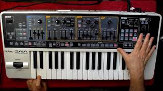 Download Roland GAIA SH-01 - Let's Make A Very Strange Organic Ambient Patch Video