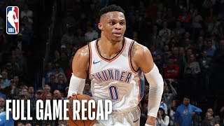 Download TRAIL BLAZERS vs THUNDER | History Is Made In OKC | February 11, 2019 Video