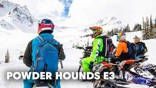 Download Snowbiking Unexplored Terrain in the Backcountry | Powder Hounds E3 Video