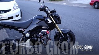 Download Honda Grom with Yuminashi 150cc Bore Kit and Turbo Video