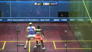 Download Squash: J.P.Morgan ToC 2014 - WSA Final Roundup - Nicol David v Laura Massaro Video