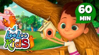 Download Two Little Dickie Birds - Educational Songs for Children | LooLoo Kids Video